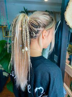 Warm Blonde, Beige Blonde, Pretty Hairstyles, Braided Hairstyles, Sport Hairstyles, Surfer Hairstyles, Festival Hairstyles, Hippie Hair, Hippie Dreads