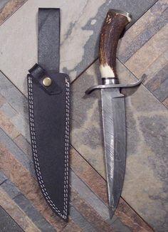Just Handmade / Custom Knives - Listings View Dakota Bowie Knife.       #handmade #knives #customknives