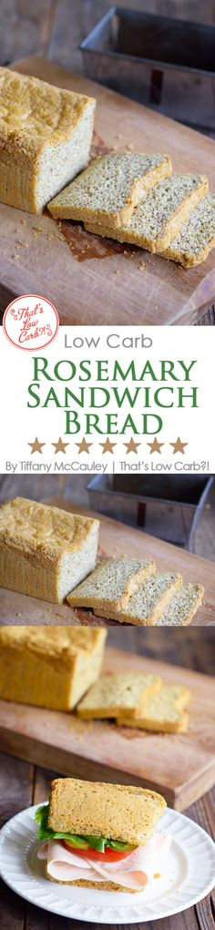 Low Carb Recipes   Low Carb Bread   Low Carb Sandwich Bread   Bread Recipes   Recipes ~ https://www.thatslowcarb.com