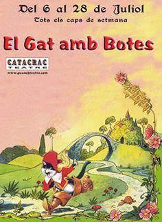 """""""El Gat amb Botes"""", al Guasch Teatre de Barcelona (juliol 2013)"""