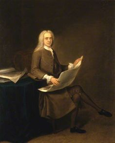 Dr John Fothergill 1740. Painting in Royal College of Physicians