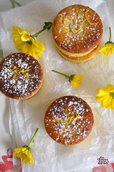 Lemon and Mascarpone biscuits - Besbelli Doughnut, Tea Time, Biscuits, Muffins, Lemon, Pudding, Cookies, Baking, Desserts