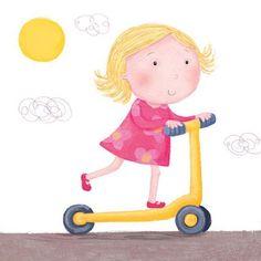 Znalezione obrazy dla zapytania holajnoga rower dzieci CLIPART