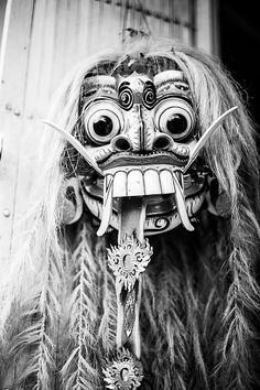 Balinese Mask by Andreas Stephan, via Flickr , Indonesia