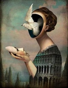 "Christian Schloe ~ ""Garden of Melancholia"" by claudette"