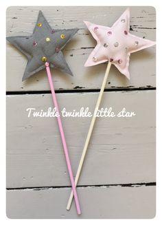 Fabric fairy wand