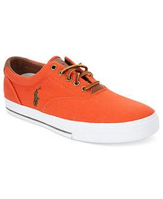 Polo Ralph Lauren Shoes, Vaughn Sneakers - Extended Sizes - Men - Macy's