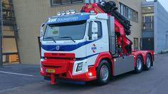 Volvo FMX 6X2 65Mkraan
