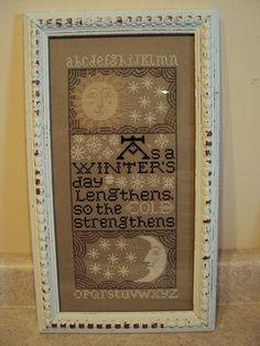 Winter Sampler by Prairie Schooler