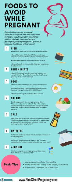 Foods to avoid when you're pregnant