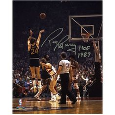 "Rick Barry Golden State Warriors Fanatics Authentic Autographed 8"" x 10"" Back Jump Shot Photograph with HOF 1987 Inscription - $49.99"