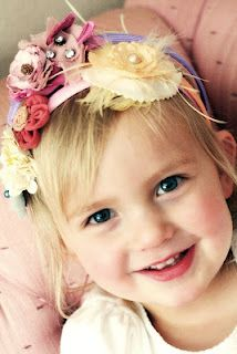 Cute Headband Ideas From A Couple of Craft Addicts. Cute Headbands, Her Hair, Shower Ideas, Brooklyn, To My Daughter, Hair Accessories, Baby Shower, Couple, Sewing