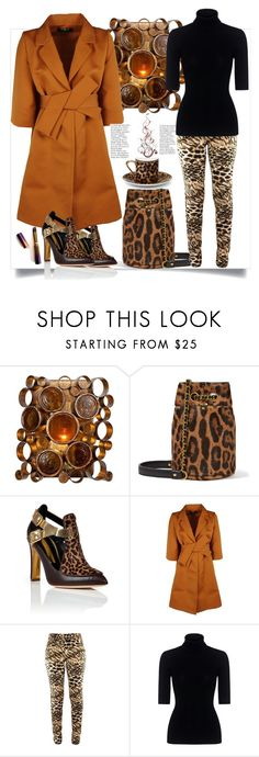 """Animal print"" by natalyapril1976 ❤ liked on Polyvore featuring Home Decorators Collection, Jérôme Dreyfuss, Rupert Sanderson, Paule Ka, Theory, Asprey and tarte"