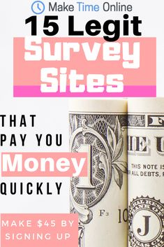 Discover the best legit survey sites that pay you money quickly. You will learn that the best survey site to make money easily is. Legit Paid Surveys, Surveys That Pay Cash, Online Surveys For Money, Make Money Online, Ways To Earn Money, Make Money From Home, Way To Make Money, Money Fast, Survey Sites That Pay