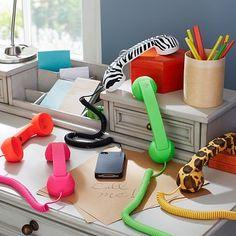 Neon Pop Phones #potterybarnteen
