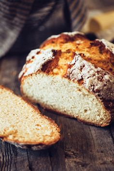 The world's easiest bread recipe for a quick Irish soda bread - no yeast needed!