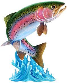 Next Innovations Jumping Trout Steel Wall Art Fish Wall Art, Fish Art, Tattoo Pez, Trout Tattoo, Tattoo Fish, Walleye Fishing, Sea Fishing, Fishing Rods, Carp Fishing