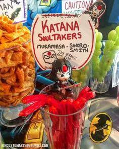 Batman Birthday Party Ideas Superhero Food