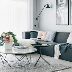 New ideas apartment ideas rental sofas - Modern Living Room Decor On A Budget, Apartment Decorating On A Budget, Small Living Rooms, Living Room Modern, Living Room Designs, Apartment Ideas, Apartment Plants, Cozy Living, Apartment Design