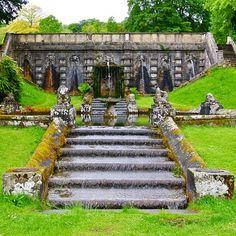 • sea sage sights : cowley manor - secret steps • http://ift.tt/1JjJeTz