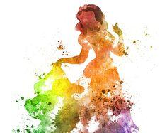 Aurora Ilustración impresión del arte de belleza por SubjectArt