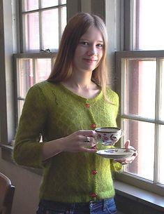 Ravelry: Grannie Smith Cardigan pattern by Melissa Wehrle
