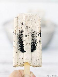 Oreo Pudding Pops / via women's day . via no.2 pencil