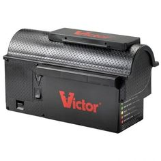 Victor Multi-Kill Electronic Mouse Trap The latest innovation in electronic rodent control, the Victor Multi-Kill Trap delivers a high-voltage shock to Bug Control, Pest Control, Control System, Electric Rat Trap, Mouse Catcher, Rat Traps, Bees And Wasps, Mouse Traps, Pest Management