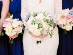 North Carolina Winter Wedding by Perry Vaile - Southern Weddings Magazine