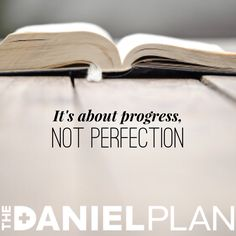 When you learn how to relax in God's liberating grace and break out of the prison of perfectionism, you will find a new level of joy and freedom in your life. Why is this? Because perfectionism is destructive to your life. www.danielplan.com