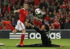Bale's finish means he is just five goals off matching Ian Rush's record for Wales