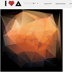 The Faceted Planets, by Chris Petersen - Visualoop