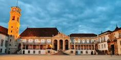 Founded in 1290, the University of Coimbra is located in Coimbra, Portugal.