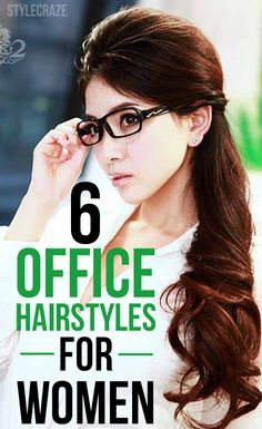 Hairstyles For Long Hair Office : Hair, Shorts Hair, Offices Hairstyles, Long Hair, Girls Hairstyles ...