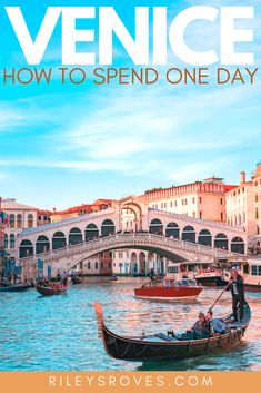 How to Spend One Day in Venice | Venice and Verona | Things to Do in Venice | What to Eat in Venice | Visiting Venice Italy | Venice Italy Sinking | Venice Italy Flooding