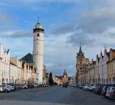 Domažlice town in Chodsko region, Czechia