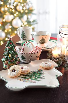 Lenox & Spode Christmas Dinnerware Collections #belk #home #holidays