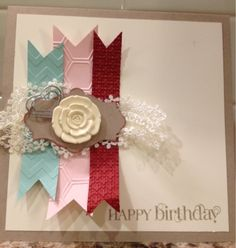 3 in One Birthday Card Challenge