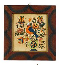Ellinger, watercolor on paper  FREEMAN'S AUCTIONEERS