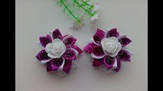 Бантики Малышки из лент Канзаши МК / The Little bows of ribbon Kanzashi MK