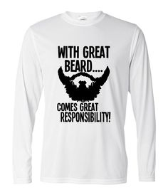 Like and Share if you want this  With Great Beard Comes Great harajuku fitness tee shirt homme fitness Men cotton long sleeve T-Shirt 2017 fashion brand clothing     Tag a friend who would love this!     FREE Shipping Worldwide     US $10.53    #aerobics