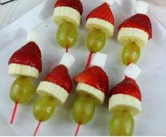 Bocadillos navideños