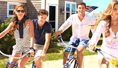 biking through the hamptons on a summers day. what more could you want?