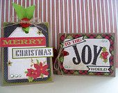 Christmas cards by mailbox memories