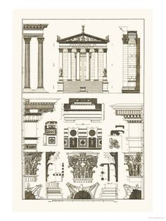 Greek / Roman Architecture Posters at AllPosters.com
