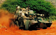 The Rhino is a combat proven artillery system. This self-propelled gun-howitzer is in service with the SANDF.