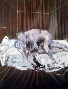 Francis Bacon, Two Figures, 1953ARTIST FRANCIS BACONFosterginger.Pinterest.ComMore Pins Like This One At FOSTERGINGER @ PINTEREST No Pin Limitsでこのようなピンがいっぱいになるピンの限界
