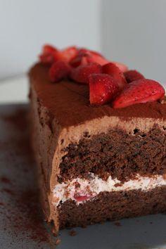 Schoko-Erdbeer-Kasten