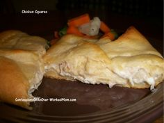 Crescent rolls with chicken and cream cheese - Simple and super yummy!