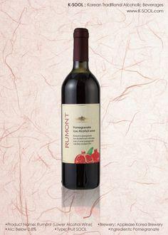 K-SOOL | Applease Korea Brewery Rumont (Lower Alcohol Wine)  www.K-SOOL.com